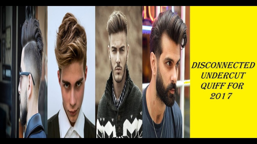 Quiff Hairstyles 38 Disconnected Undercut Quiff Haircuts For Men In