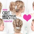 TOP-STYLISH-updo-hairstyles-for-prompartywedding-Curly-updo-for-shortmedium-long-hair