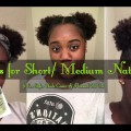 10-CUTE-HAIRSTYLES-FOR-SHORTMEDIUM-NATURAL-HAIR-ft.-Eco-Styler-Black-Castor-Oil-Flaxseed-Gel