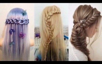 10-Easy-Hairstyles-For-Long-Hair-Hairstyles-Tutorials-Compilation-2017-13