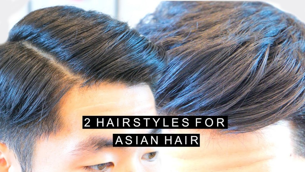 2 Hairstyles For Asian Hair High Volume Quiff Comb Over Side