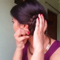 2-Min-Side-Bun-hairstyles-for-saree-for-medium-to-long-hair