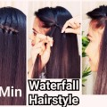 2-Min-WATERFALL-Hairstyle-for-HolidaysIndian-Hairstyles-for-medium-long-hairHairstyle-Diaries