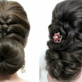 2-easy-hairstyles-for-long-hair-tutorial.-Prom-updos