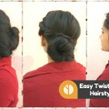 3-EASY-Bun-Hairstyles-For-Medium-to-Long-Hair-DIY-Everyday-Twisted-Bun-Hair-Tutorial