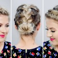 3-Gorgeous-Spring-Braided-Short-Hairstyles-Milabu