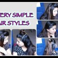 5-Very-Simple-Hair-Styles-for-short-long-hair-