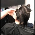 Asymmetric-hair-cut-Short-haircut-tutorial-for-women-GuyTangHairArtist