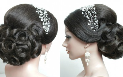 Bridal-hairstyle-for-long-hair-tutorial.-Prom-updo-step-by-step