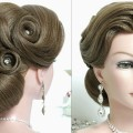Bridal-hairstyle-for-long-hair-tutorial.-Prom-wedding-updo