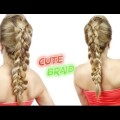 CUTE-HAIRSTYLE-FOR-MEDIUM-OR-LONG-HAIR-CUTE-AND-EASY-BRAID-Awesome-Hairstyles-
