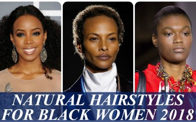 Chic-natural-hairstyles-haircuts-for-african-american-women-2018