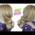 EASY-HAIRSTYLE-FOR-LONG-HAIR-EVERYDAY-QUICK-MESSY-BUN-Awesome-Hairstyles-