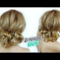 EASY-HAIRSTYLE-FOR-MEDIUM-OR-LONG-HAIR-QUICK-AND-EASY-MESSY-BUN-Awesome-Hairstyles-