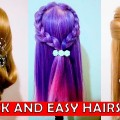 Easy-Quick-Everyday-Hairstyles-for-long-hair-hairstyles-for-medium-hair-1
