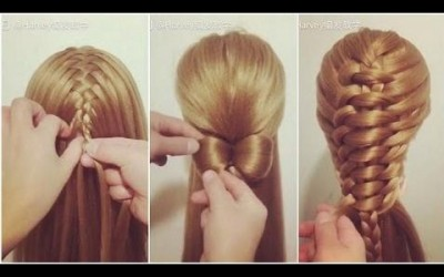 Hairstyles-For-Long-Hair-Hairstyles-Tutorials-Compilation-March-2017-Hairstyle-Make-Up