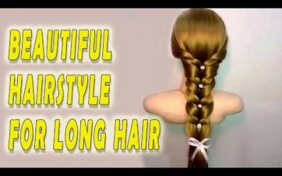 Hairstyles-for-long-hair-tutorial-Bridal-updo-mermaid-braid-Braided-hairstyle-tutorial-1