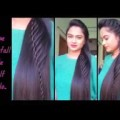 Hairstyles-for-medium-to-long-hair-Rope-waterfal-half-updo-Indian-party-hairstyles