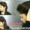 How-to-Side-Puff-With-Trick-And-Ponytail-Hairstyle-Easy-Side-Puff-For-MediumLong-Hair
