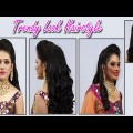 Indian-Wedding-Bridal-Trendy-Look-Hairstyle-for-Long-Medium-Hair
