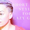 Lazy-Girls-Hairstyle-for-Short-Hair-1