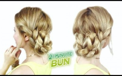 PROM-HAIRSTYLE-FOR-MEDIUM-OR-SHORT-HAIR-CUTE-AND-EASY-BUN-WITH-BRAIDS-Awesome-Hairstyles-
