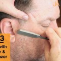 Part-3-Contemporary-Partially-Disconnected-Mens-Haircut-Detailing-with-a-Trimmer-and-Razor