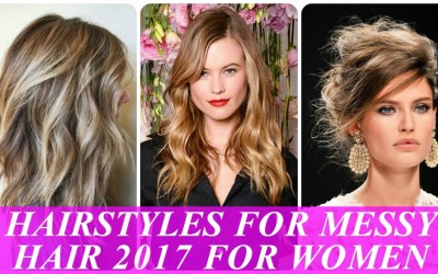 Popular-hairstyles-for-messy-hair-2017-for-women