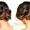 ROMANTIC-MESSY-BUN-UPDO-with-CURLS-SPRING-HAIRSTYLES-for-Prom-Wedding