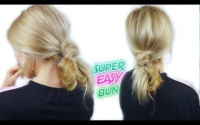 RUNNING-LATE-HAIRSTYLE-FOR-MEDIUM-OR-LONG-HAIR-QUICK-AND-EASY-MESSY-BUN-Awesome-Hairstyles-