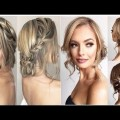 Romantic-Wedding-Prom-Hairstyle-For-Long-Hair-Medium-Hair-New-Year-2017