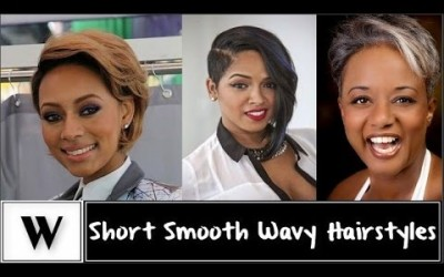 Short-Smooth-Wavy-Hairstyles-for-Black-Women