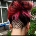 Undercut-Hairstyles-for-Girls-Geometric-Colored-and-Glitter-designs