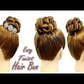 Wedding-Bridal-Easy-Twist-Bun-Hairstyle-Prom-Tutorial-for-long-medium-hair
