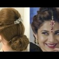 2-Beautiful-Hairstyles-with-puff-Easy-Wedding-Hairstyles