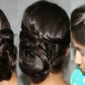 2-Easy-Messy-Bun-Updo-Hairstyles-DIY-Quick-Summer-Updo-Hairstyles-For-LongMedium-Hair