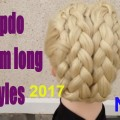5-MINUTE-Romantic-Hairstyle-2017-EASY-Updo-medium-long-Hairstyles-haar-opstekentips-amal-hermuz