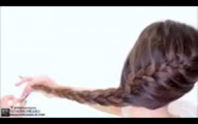 5-Minute-French-BRAID-Updo-Easy-Summer-HAIRSTYLES-June-2017-by-makeup-and-beauty-tips