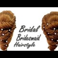 Asian-wedding-Bridal-Bridesmaid-Hairstyle-for-Long-Medium-Hair-Bridal-Hairstyle-Tutorial