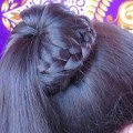 Braided-Bun-Hairstyle-Easy-Lace-Braid-Bun-Juda-Hairstyle