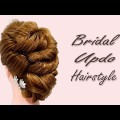 Bridal-Updo-Hairstyle-for-Long-Medium-Hair-Wedding-Bridal-Updo-Hairstyle-Tutorial