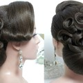 Bun-hairstyles.-Bridal-updo-for-long-hair-tutorial.