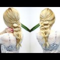 EASY-HAIRSTYLE-FOR-MEDIUM-OR-LONG-HAIR-CUTE-AND-EASY-BRAID-Awesome-Hairstyles-