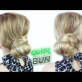 EASY-HAIRSTYLE-FOR-MEDIUM-OR-LONG-HAIR-QUICK-AND-EASY-BUN-Awesome-Hairstyles-