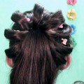 Easy-Hairstyle-For-Eid-Celebration-Tutorials-for-Medium-or-Long-Hair-Indian-Party-Hairstyle