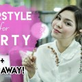 Easy-Party-Hairstyles-Tutorial-For-Short-Hair-GIVEAWAY-CINTA-RUHAMA-AMELZ-Bahasa-Indonesia