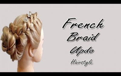 French-Braid-Updo-Hairstyle-for-Long-Medium-Hair-Wedding-Bridal-Hairstyle