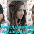 Hairstyle-Inspired-by-Shraddha-Kapoor-Half-Girlfriend-Party-Hairstyles-for-long-and-medium-hair