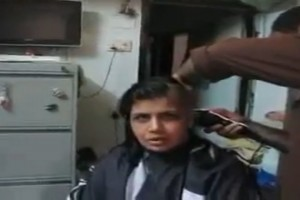 Headshave-Of-Young-Indian-Women-In-Home