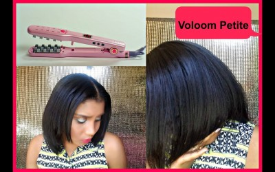 How-I-Add-Volume-To-My-ShortFine-Hair-Quick-Easy-l-Voloom-Petite-Iron-Demo-Review